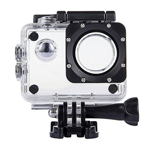 TEKCAM Professional SJ4000 WiFi Waterproof Case Protective Compatible for AKASO EK7000 EK5000 1080P/ Vikeepro 2.0 inch/Vtin 4K Waterproof Sport Action Camera