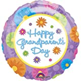 """Happy Grandparent's Day"" Flowers 18"" Balloon Mylar"