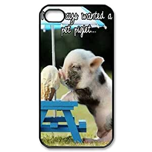 Winfors Cute Pig Phone Case For Iphone 4/4s [Pattern-6]