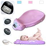 Todeco - Baby Scale, Electric Baby Scale - Size: 65.4 x 33.2 x 11.6 cm - Maximum load: 44 lbs - Pink