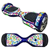 Sandistore Protective Vinyl Skin Decal for 6.5in Self Balancing Scooter Hoverboard 2 Wheels (C)