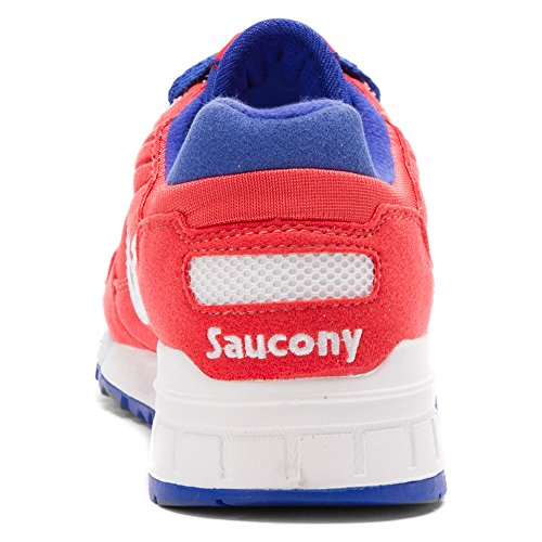 Saucony Originelen Womens Shadow 5000 Fashion Sneaker Rood / Wit