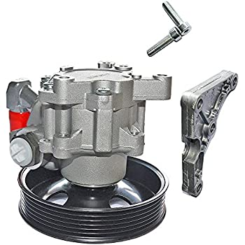 BuyAutoParts 86-01183AY New New Power Steering Pump w//Pulley For Mercedes CLS500 CLS55 E320 E500 E55