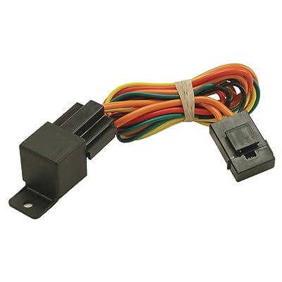 Derale 16763 Electric Fan Relay Wire Harness,Black: Automotive