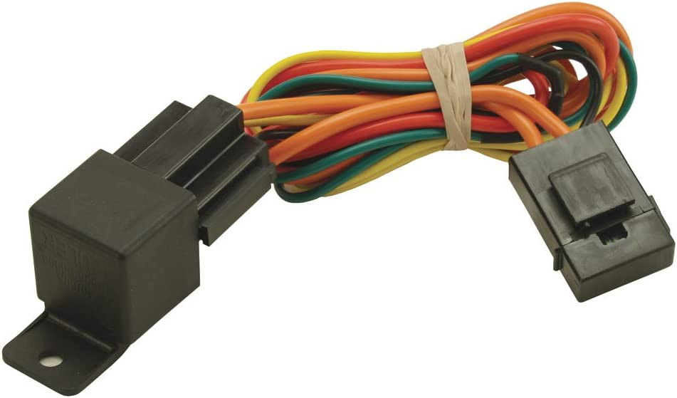 Derale 16763 Electric Fan Relay Wire Harness,Black
