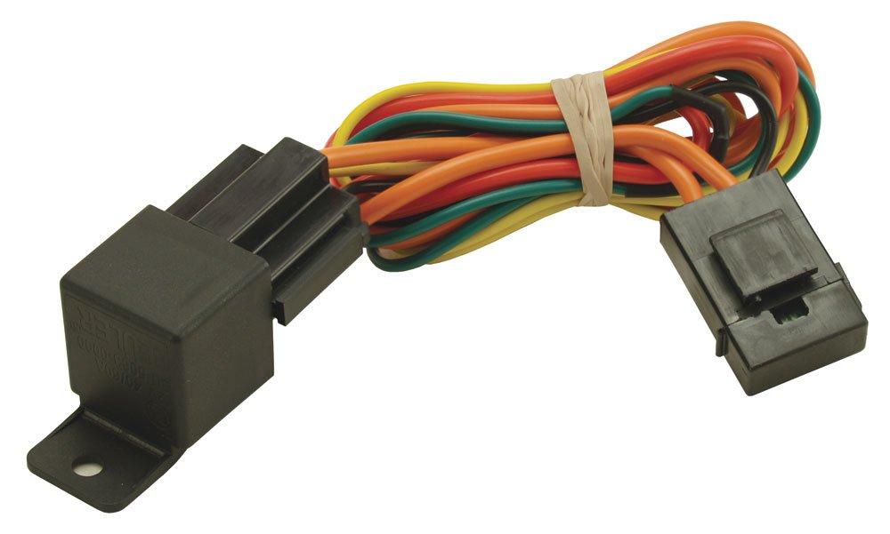 derale 16763 electric fan relay wire harness Dual Radiator Fan Wiring Diagram