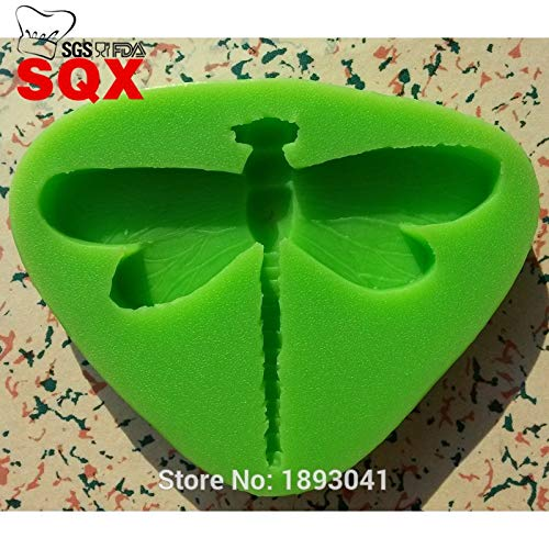 1 piece 1PC dragonfly Fondant Cake Mold Food Grade Silicone Cake Mold for Kitchen Baking Decoration and Tool LH12