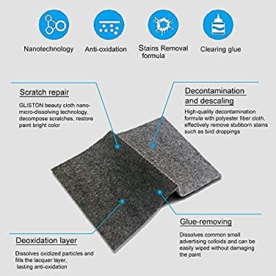 Dualshine Car Scratch Remover Cloth, Magic Scratch Removal- 1 Pack with Accessories, Car Scratch Repair Kit for Repairing Car Scratches and Light Scratches Remover Scuffs on Surface: Automotive