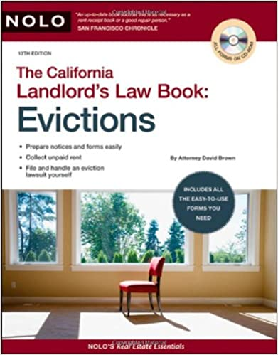 California Landlord S Law Book Evictions