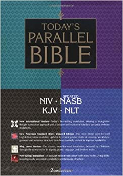 Today S Parallel Bible Burgundy Zondervan 9780310918394