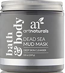 Even Cleopatra, Queen of the Nile, took time out to rejuvenate with mud from the Dead Sea. Art Naturals' Dead Sea Mud Mask uses mud from Israel, fam-ous worldwide for its cleansing, detoxing and revitalizing abilities. You'll give your skin the royal...