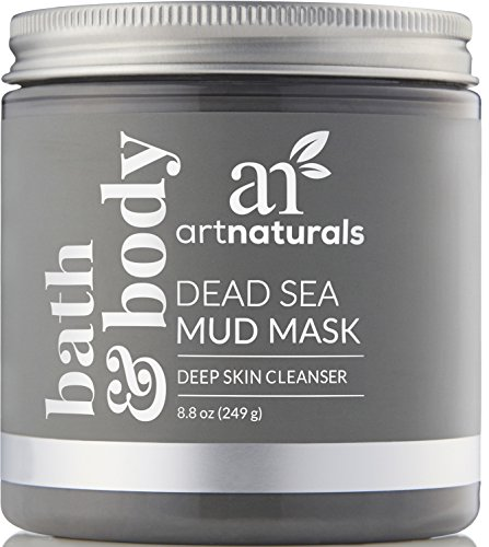ArtNaturals Dead Sea Mud Mask - for Face, Body & Hair 8.8 oz, 100% Natural and Organic Deep Skin...