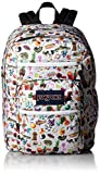 JanSport Unisex Big Student Multi Stickers Backpack