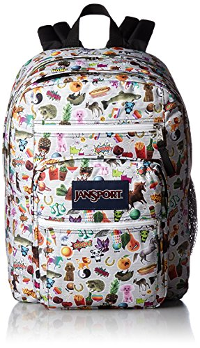 (JanSport Unisex Big Student Multi Stickers Backpack)