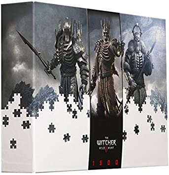 The Witcher III Generals 1500 Piece Jigsaw Puzzle by CD Projekt ...
