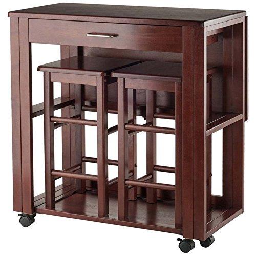 Winsome Wood Fremont 3 Piece Space Saver Set