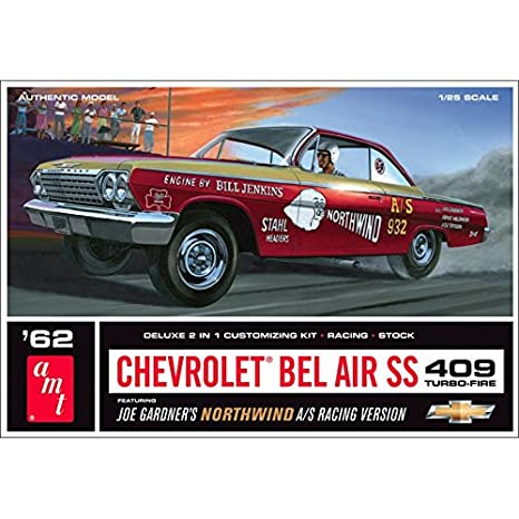 Amazon Amt 125 Scale 1962 Chevy Bel Air Northwind Super Stock