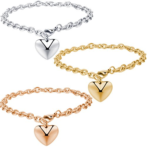 areke-stainless-steel-chain-bracelets-with-dangle-heart-charm-75-inch