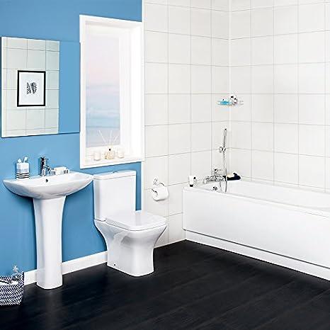 Design Moderno Bagno Suite Con 1700 Mm Bagno Wc E Lavabo Amazon It