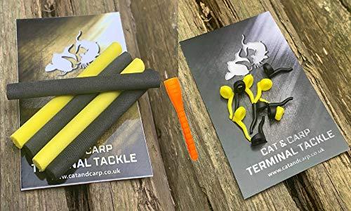 6mm Black & Yellow Zig Rig Foam, Aligners & Tool. Zig Rig Aligners. Zig Foam Fishing Pop Up Foam. Carp Terminal Tackle