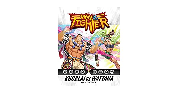 Ninja Division Way of The Fighter: Figther Pack Khublai vs Wattana ...