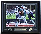#9: Corey Clement Signed Framed 16x20 Eagles Super Bowl 52 LII TD Front Photo JSA