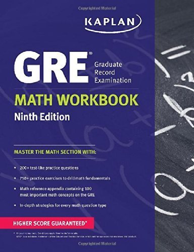 GRE® Math Workbook (Kaplan Test Prep) Ninth Edition Ninth edition by Kaplan (2013) Paperback
