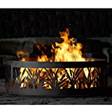 Fire Ring Fire Pit - PD Metal CFR00948 - Cattail