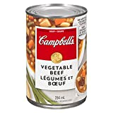 Campbell's Vegetable Beef Soup, 284ml, 12-Count