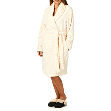 Lepel Tiger Hush Long Dressing Gown - Cream  Amazon.co.uk  Clothing 9630ecb3e
