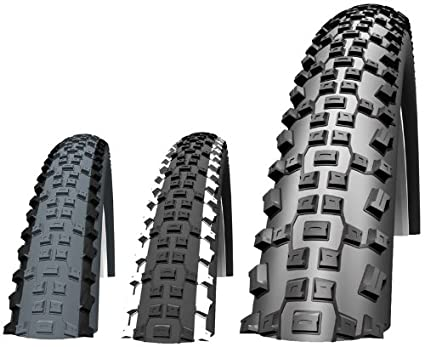 "2X Schwalbe Rapid Rob 26/"" X 2.25 Guard MTB Tyres /& Presta Inner Tubes"