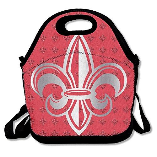 (Louisiana Lafayette Ragin Cajuns 1 Platinum Logo Travel Tote Lunch Bag)