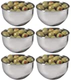 Amco Round Condiment Cup, Set of 6