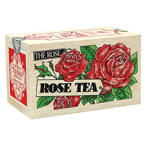 - Mlesna Rose Tea Pure Ceylon Tea Bags 25 Sachets Net Wt. 50 g.