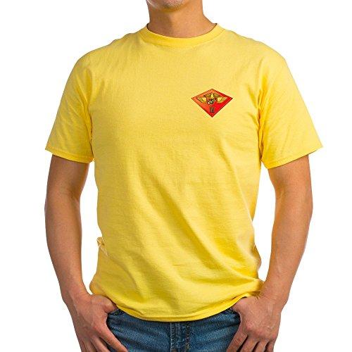 Air Craft Wing T-Shirt 100% Cotton T-Shirt Yellow ()