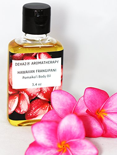 Cheap HAWAIIAN FRANGIPANI BODY OIL – DEHAZ Skincare 100% Pure Natural Vegan Botanical Aromatherapy Body Oil