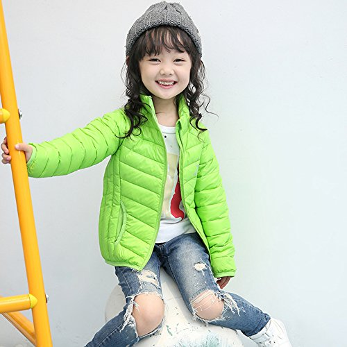 Winter Anoraks Jacket Children Lemonkids;® Lightweight Green Pure Down Chic Green Coat RAxZgxqw5n