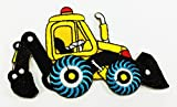 Backhoe Rear Actor Back Actor Cab Tractor DIY Applique Embroidered Sew Iron on Patch p#55