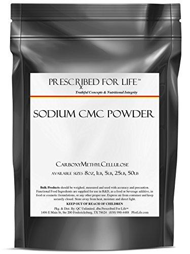 CMC (sódico) polvo - carboximetilcelulosa, 1 lb