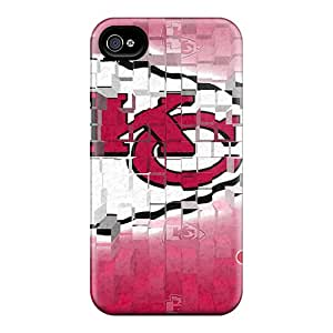 Durable Hard Phone Cover For Iphone 6plus With Provide Private Custom High-definition Kansas City Chiefs Series JasonPelletier