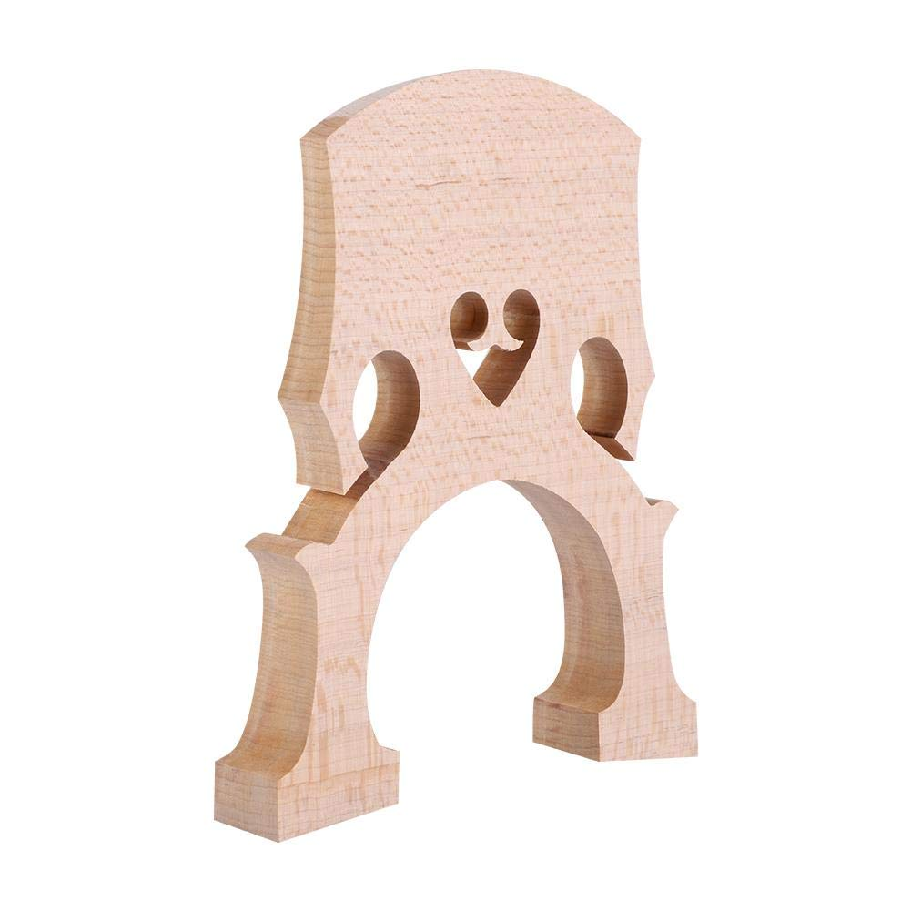 Bnineteenteam Maple Wood Cello Bridge Nice Accessory for Bass Players