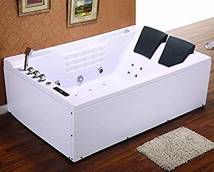 Whirlpool baño – madura 606 calentador/1800 x 1200 x 620 mm/ozono desinfección