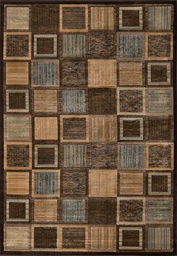 - Momeni Rugs DREAMDR-07BRN3B57 Dream Collection, Contemporary Area Rug, 3'11
