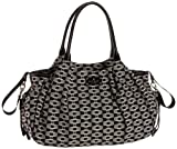 Kate Spade Signature Spade Stevie Baby Bag,Black/Cream,one size