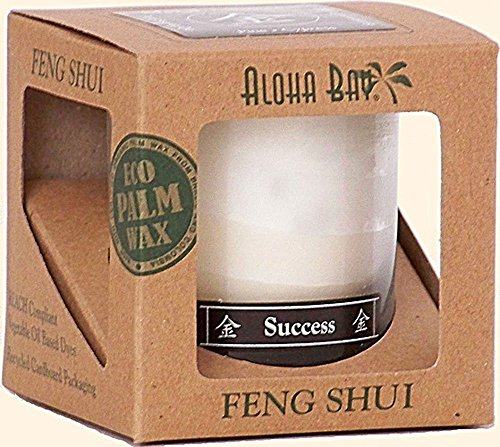 Aloha Bay Candle-Jar-Feng Shui-Metal-Success 2.5 oz Candle