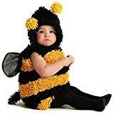 Princess Paradise Baby Girls Stinger The Bee, Yellow/Black, 6/12 Months