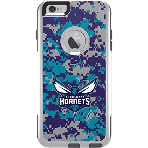 Skinit Charlotte Hornets Digi Camo OtterBox Commuter iPhone 6 Plus Skin for CASE - Officially Licensed NBA Skin for Popular Cases Decal - Ultra Thin, Lightweight Vinyl Decal Protection ()
