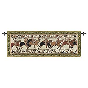 Diseño Toscano Bayeux Tapestry W/Rod Nr