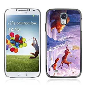 Designer Depo Hard Protection Case for Samsung Galaxy S4 / Cute Forrest Animals