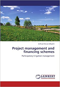 Book Project management and financing schemes: Participatory Irrigation management